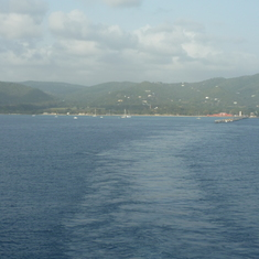 Leaving St. Croix
