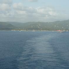 Frederiksted, St. Croix, U.S.V.I. - Leaving St. Croix