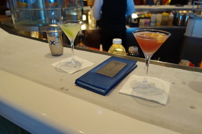 Drinks at Crush Martini Bar! - Celebrity Solstice