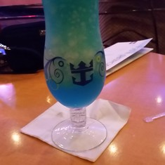 A blue margarita