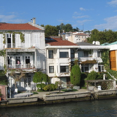 Istanbul, Turkey - Homes on the Bosphorus--Near Istanbul