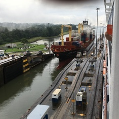 Locks in Panama Canal