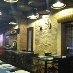 Barcelona, Spain - Casa Guinart restaurant