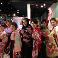 Gorgeous girls in Osaka.