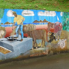 More of the mural