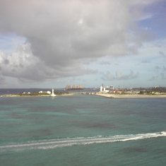 Nassau, Bahamas - View From 100m Above the Water #2