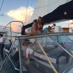 Sunset Catamaran Champagne cruise