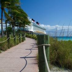 Castaway Cay (Disney Private Island) - Castaway Cay Sidewalk