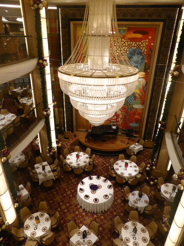 Ship Chandelier - Allure of the Seas