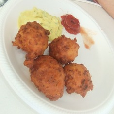 Grand Turk Island - Conch Fritters