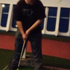 miniature golf on deck