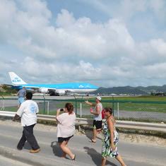 Philipsburg, St. Maarten - KLM 747