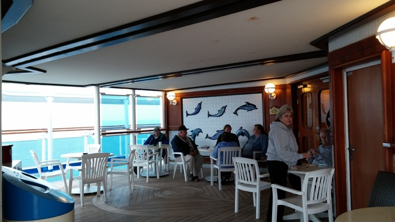 Smoking Area (Deck 16) - Caribbean Princess