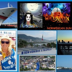 San Diego, California - Halloween Cruise