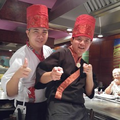 Our Hibachi Chefs-HAI YA!!!