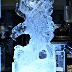 Ice Sculpted Eagle