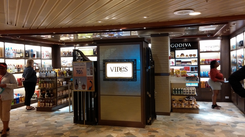 Vines Shop - Caribbean Princess