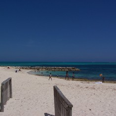 Public Beach in Nassau