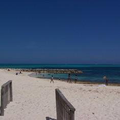 Public Beach in Nassau
