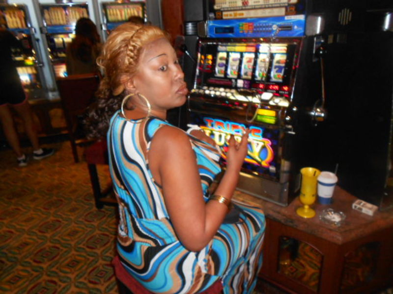 Trying to win in the casino - Carnival Triumph