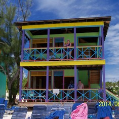 Our beautiful villa at Half Moon Cay.