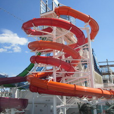 water slide was amazing