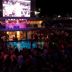 Caribbean Nights party on Lido deck