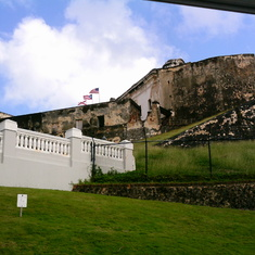 fort at Old San Juan