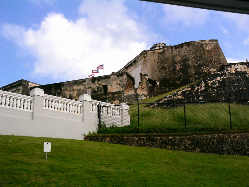 fort at Old San Juan - Carnival Valor
