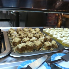 Desserts on the Lido Deck, Carnival Splendor