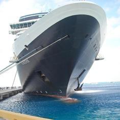 Eurodam docked in Grand Turk