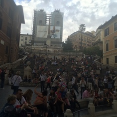 Civitavecchia (Rome), Italy - Spanish Steps--Rome, Italy