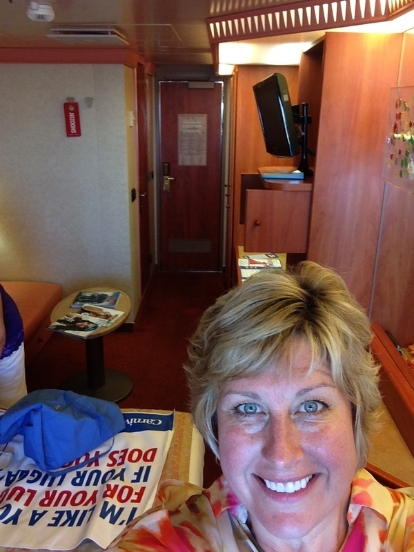 Carnival Liberty cabin 8267 - we made it!