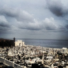 Beautiful cemetery in San Juan