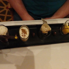 David's Steakhouse - Chocolate sampler
