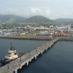 Basseterre, St. Kitts - Pier at St. Kitts