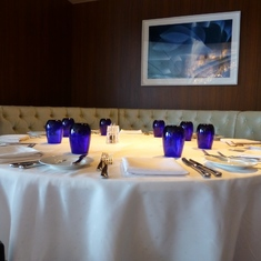 Celebrity Constellation - Blu restaurant