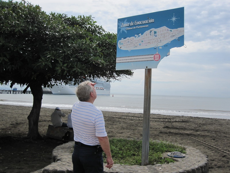 Puntarenas, Costa Rica - You are here...
