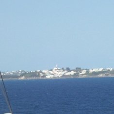 Coming into Bermuda