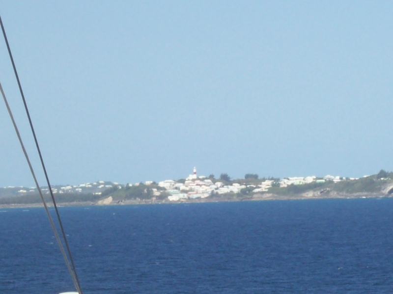 Coming into Bermuda - Norwegian Dawn