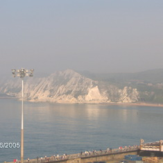 Dover (London), England - Dover chalk hills