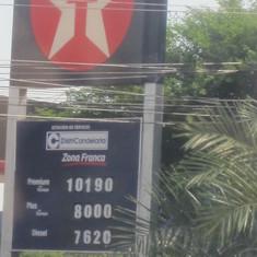 Gas prices in Cartagena