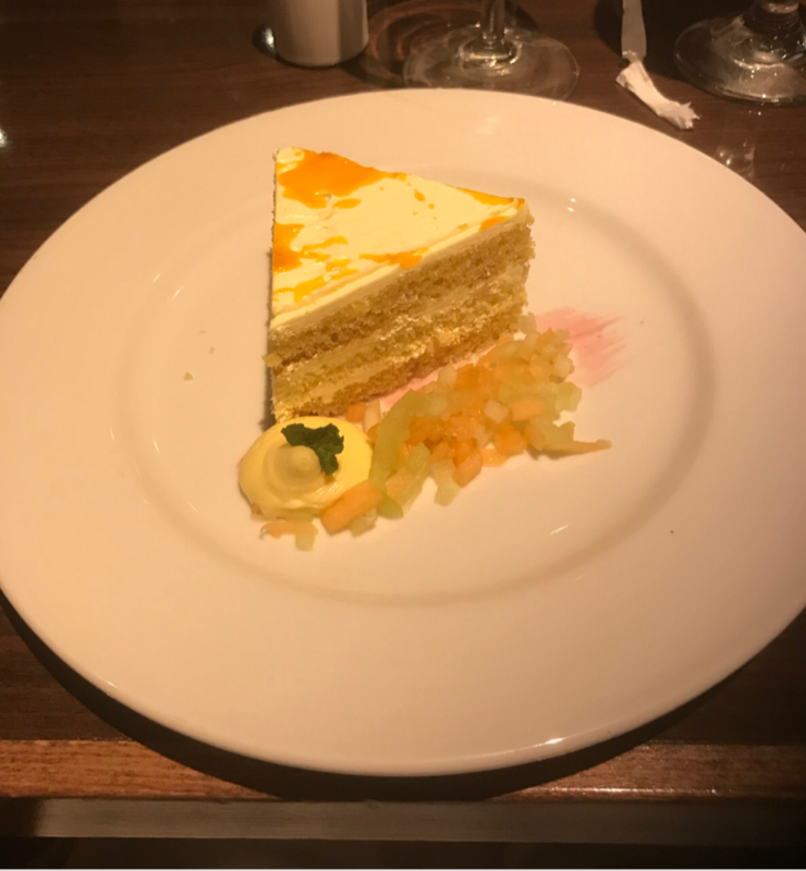 Mango Cream Cake (Dessert) - Carnival Magic