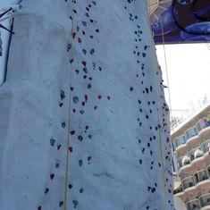 Rock Climbing Wall on Harmony of the Seas