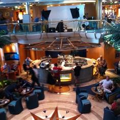 Radiance of the Seas Atrium