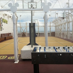 Basketball Court, Disney Dream