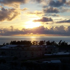 Sunset in Bermuda