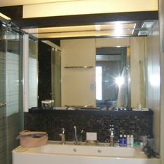 common sink in bathroom