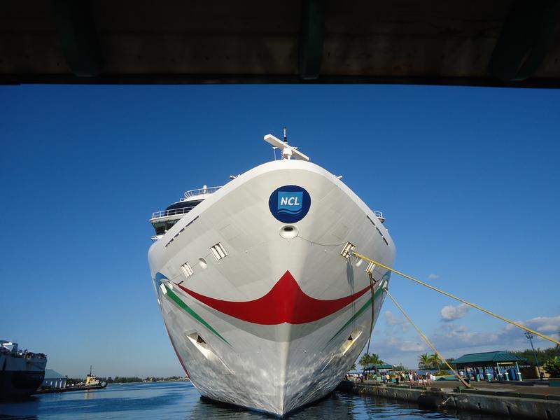 Docked in Nassau - Norwegian Dawn