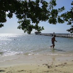Coxen Hole, Roatan, Bay Islands, Honduras - Maya Key Private Island beach